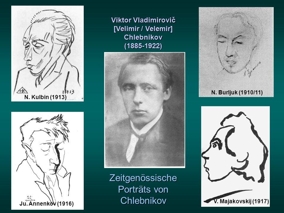Viktor Vladimirovič [Velimir / Velemir]